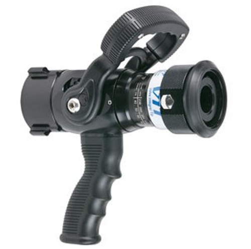 "TFT Legacy 1.5"" Valve Integral Nozzle with Pistol Grip - 1.5"" Outlet with 7/8"" Orifice"