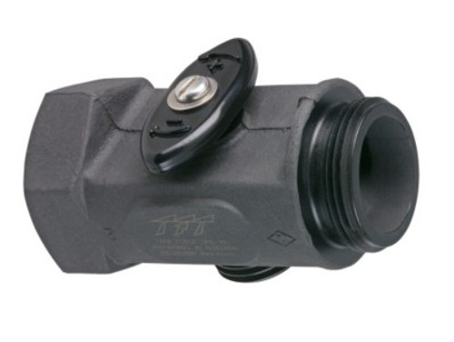 """TFT Legacy 1.5"""" Inlet/Outlet Tee Valve with 1"""" NH Branch Outlet"""