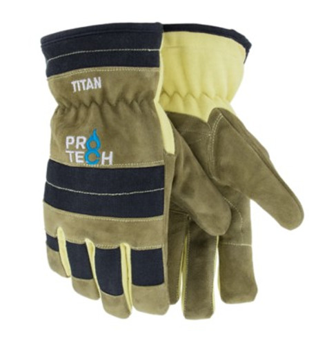 Pro-Tech 8 TITAN Structural Firefighting Glove, Goatskin/Kevlar, NFPA