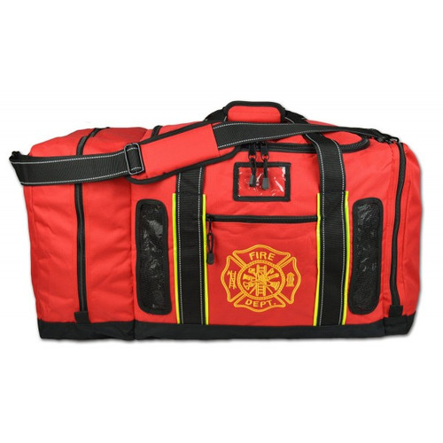 Lightning X #LXFB45M Quad Vent / Top Load Gear Bag with Mesh Vents - Specify Red, Black, Pink or Fluorescent Yellow