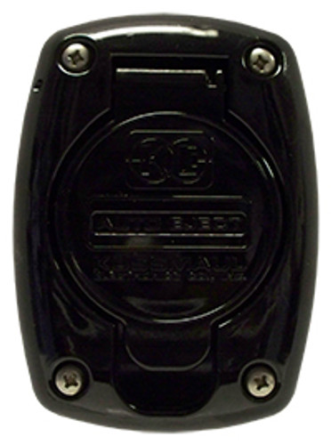 Kussmaul #091-55BLK Receptacle Cover For 15 & 20 Amp Super Auto Eject - Black