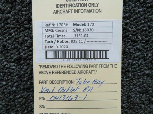 0413163-28 Cessna R182 Tube Assy RH