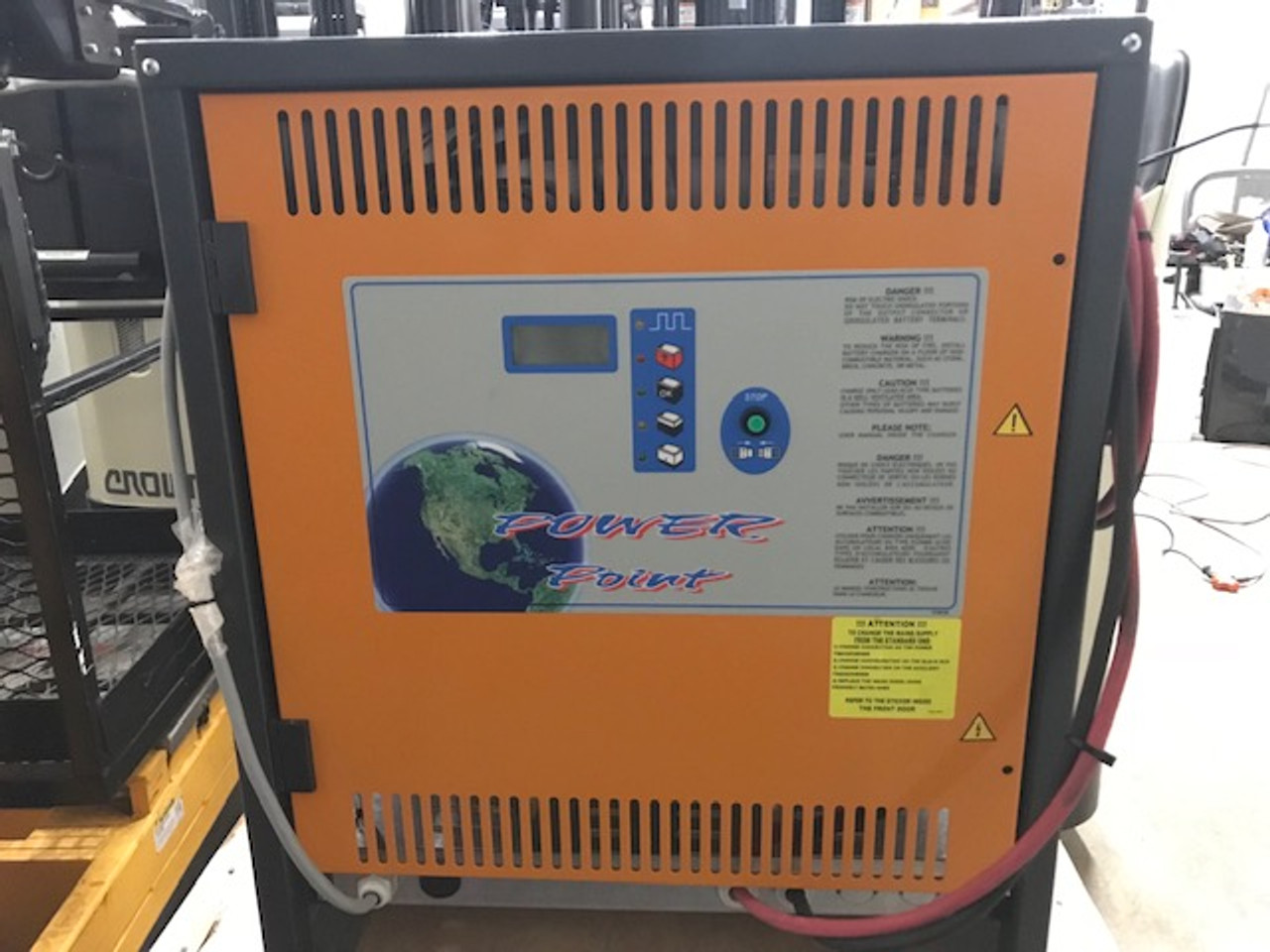 48 Volt NEW Forklift Battery Charger,  3 Phase, 500-700 Amp Hour 208/240/480 Volts Input