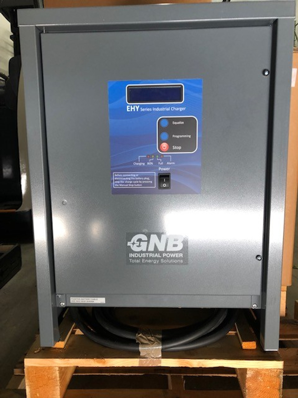 36 Volt NEW 3 Phase Forklift Battery Charger  875 Amp Hour 208/240/480 Volts Input