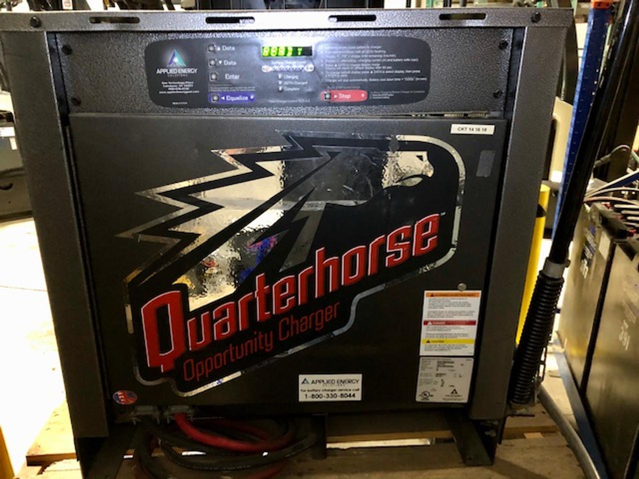 36 Volt Quarter Horse Opportunity Smart Charger 750 Amp Hour 3 Phase 240/480/575 Volts Input