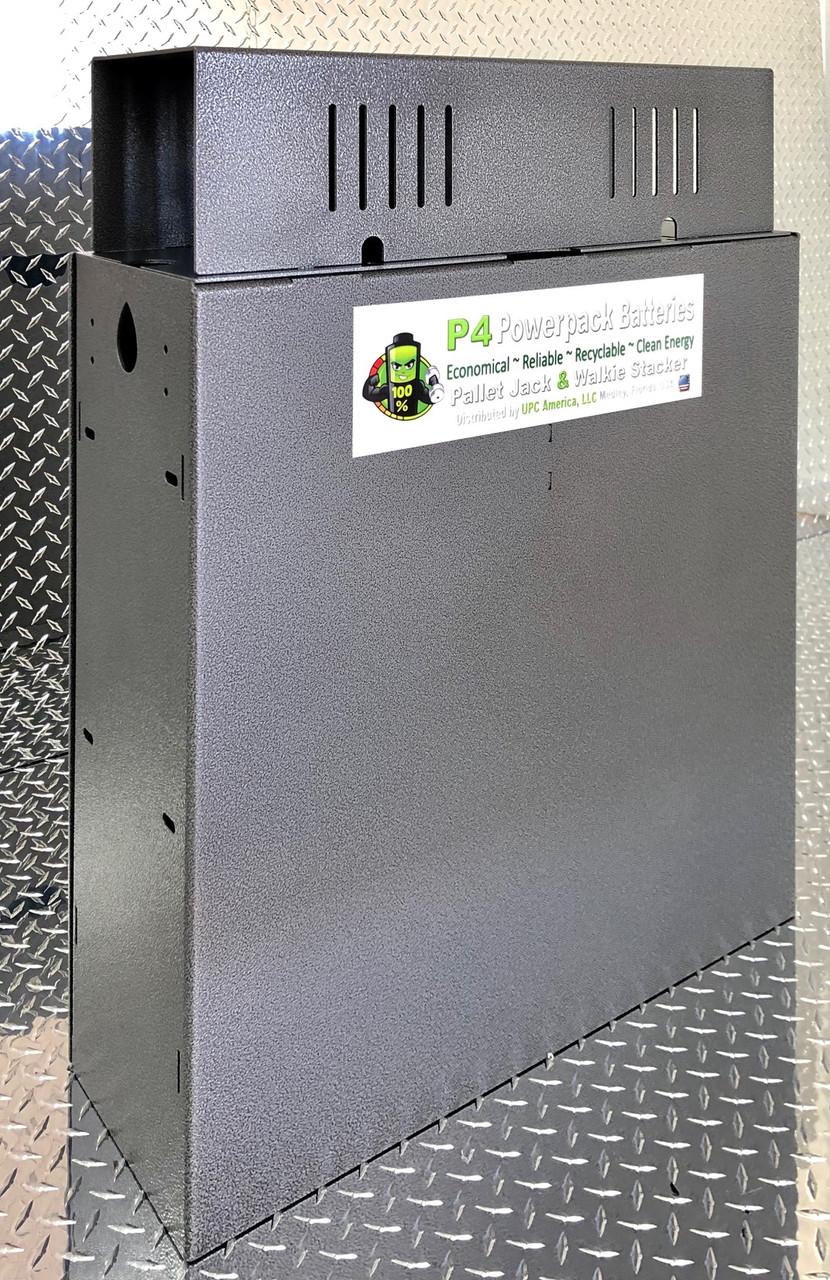 P4 Powerpack 24 Volt Flooded Low Maintenance Pallet Jack & Walkie Stacker Battery
