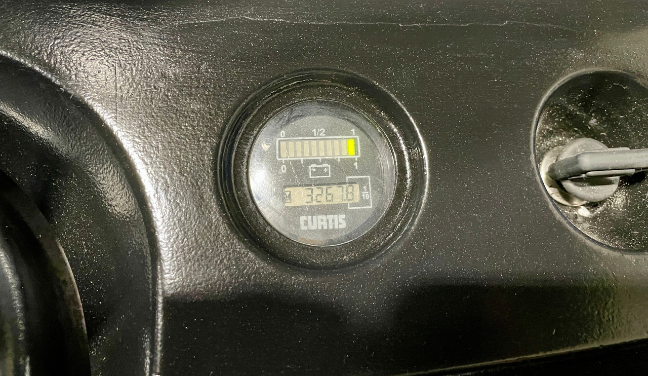 """2007 Crown Walkie Stacker New EnerSys Battery Cells with Charger Raised Height  130"""" Cap 4,500 lbs Capacity Stock # 3874"""