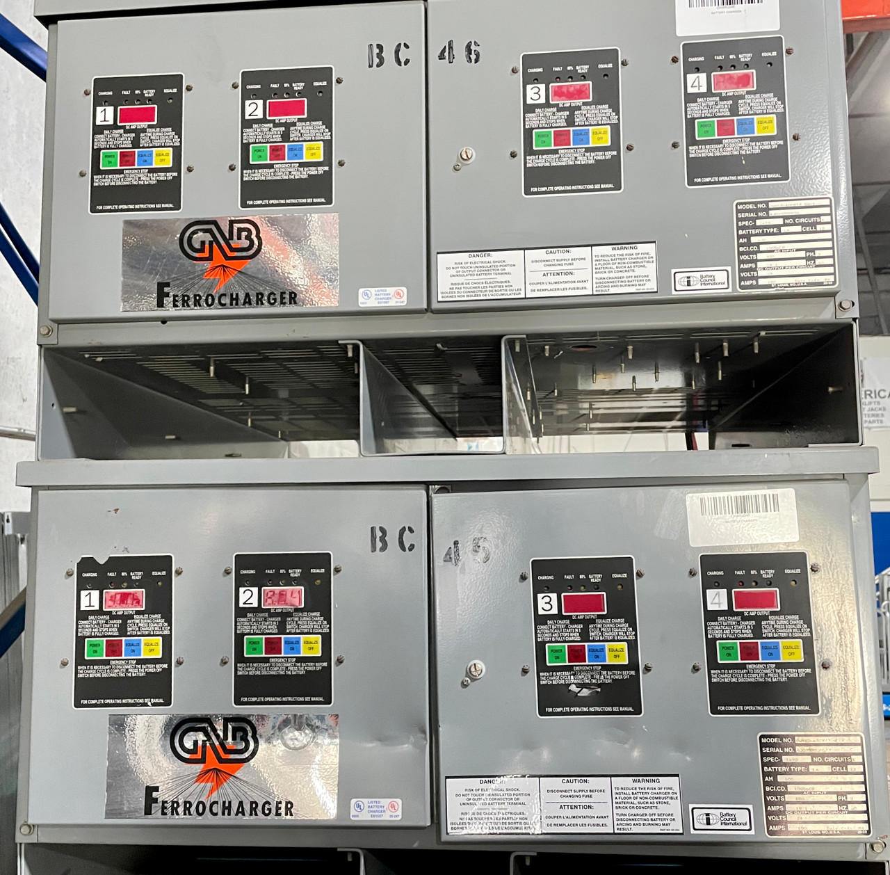 GNB USED 24 VOLT CHARGER FOR SALE
