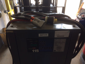 24 Volt GNB SCR 200 Forklift Battery Charger 3 Phase 750 Amp Hour 208/240/480 Volts Input