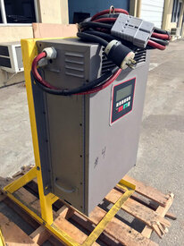 48 VOLT 3 PHASE 480 VAC BATTERY CHARGER WITH STAND