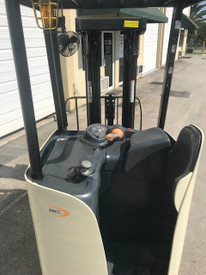 2009 Crown RC5530C-30, Electric Forklift, Dockstocker, Narrow Aisle 9648