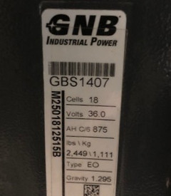 """2009 Crown Electric Forklift RC5530 84""""/190"""" H  3,000 lbs  Stock #2866"""