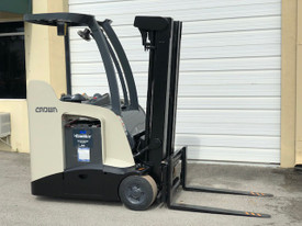 "2013 Crown Electric Forklift RC5530 84"" / 190"" H Cap 3,000 lbs Stock # 8797"