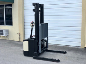 Used Crown Electric walkie stacker, 30 Day Warranty