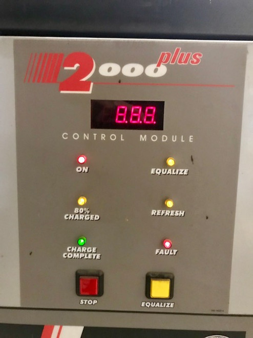 12 Volts The General Forklift Battery Charger 550 Amp Hour 3 Phase 208/240/480 A.C. Volt Charger