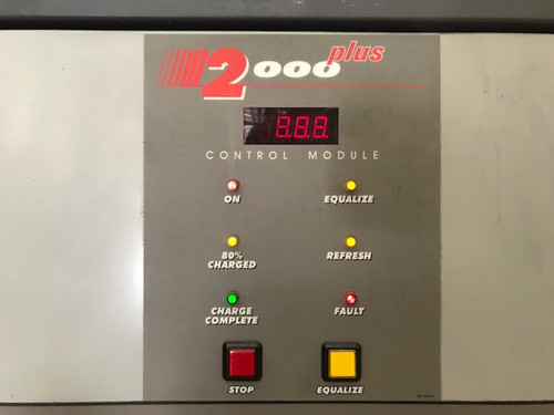 12 Volts The General Forklift Battery Charger 550 Amp Hour 3 Phase 208/240/480 Charger