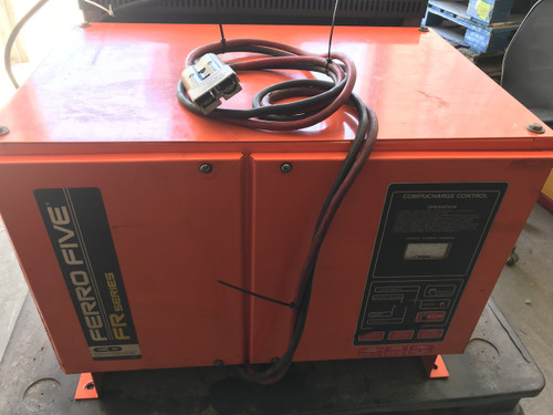 48 Volt Ferro Five FR series Forklift Battery Charger  3 Phase 511-751 Amp Hours 575 Volts Input