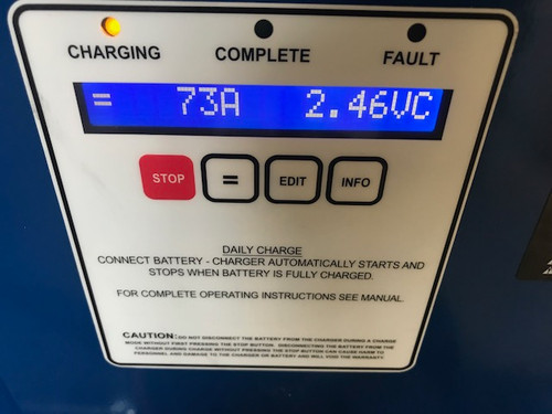 36 Volt Powerhouse Battery Charger  3 Phase, 1050 Amp Hour 208/240/480 Volts Input