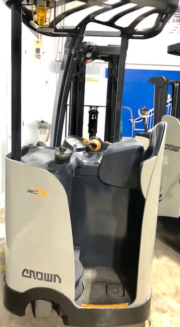 "2012 Crown Electric Forklift RC5520 84"" / 190"" H Cap 3,000 lbs Stock # 7003"