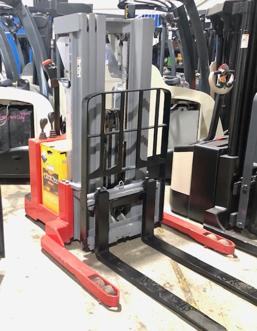 2005 Raymond Electric Walkie Stacker 3,750 LB Capacity W/ 24 Volt Deka Industrial Battery Stock # 1002