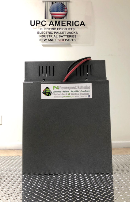 Powerpack Batteries 24 Volt with on-board charger