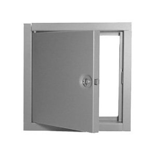"""Elmdor FR  8"""" x 8"""" Non-Insulated Fire Rated Stainless Steel Wall Access Door"""