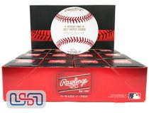 (12) 2017 World Series MLB Rawlings Baseball Houston Astros Boxed - Dozen