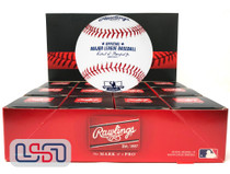 (12) David Ortiz Retirement MLB Rawlings Baseball Boston Red Sox Boxed - Dozen