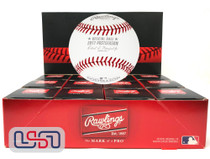 (12) 2017 Postseason MLB Rawlings Baseball Houston Astros Boxed - Dozen