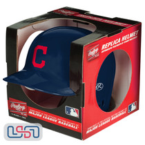 Cleveland Indians Rawlings Mini MLB Baseball Batting Helmet