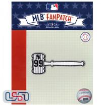 "Aaron Judge ""Judge's Gavel"" MLB Logo Jersey Sleeve Patch Licensed Yankees"