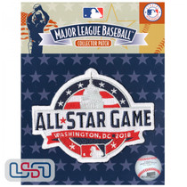 2018 All Star Game MLB Logo Jersey Sleeve Patch Licensed Washington Nationals