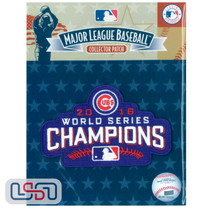 2016 Chicago Cubs World Series Champions MLB Logo Jersey Sleeve Patch Licensed