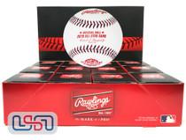 (12) 2018 All Star Game MLB Rawlings Baseball Washington Nationals Boxed - Dozen