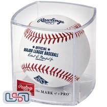 San Francisco Giants 60th Anniversary Official MLB Rawlings Baseball - Cubed