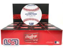 (12) 2018 Florida Spring Training Official MLB Rawlings Baseball Boxed - Dozen