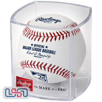 Colorado Rockies 25th Anniversary Official MLB Rawlings Baseball - Cubed
