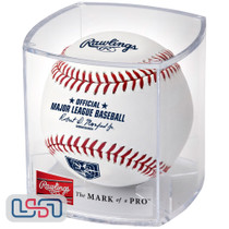 Tampa Bay Rays 20th Anniversary Official MLB Rawlings Baseball - Cubed