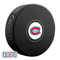 Montreal Canadiens Official NHL Logo Souvenir Autograph Hockey Puck