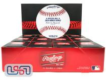 (12) 2018 World Series MLB Rawlings Baseball Boston Red Sox Boxed - Dozen