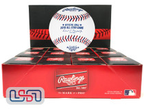(12) Rawlings 2019 All Star Game MLB Baseball Cleveland Indians Boxed - Dozen