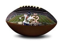 Khalil Mack #52 Chicago Bears NFL Full Size Official Licensed Football