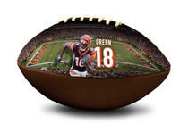 A.J. AJ Green #18 Cincinnati Bengals NFL Full Size Official Licensed Football