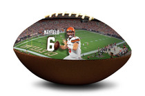 Baker Mayfield Cleveland Browns NFL Full Size Official Licensed Football