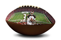 Jameis Winston Tampa Bay Buccaneers NFL Full Size Official Licensed Football