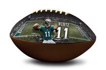 Carson Wentz #11 Philadelphia Eagles NFL Full Size Official Licensed Football