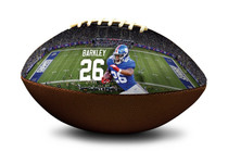 Saquon Barkley #26 New York Giants NFL Full Size Official Licensed Football