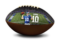 Eli Manning #10 New York Giants NFL Full Size Official Licensed Football
