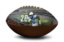 Melvin Gordon #28 Los Angeles Chargers NFL Full Size Official Licensed Football