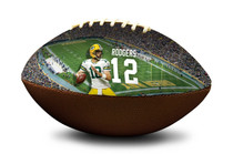 Aaron Rodgers #12 Green Bay Packers NFL Full Size Official Licensed Football